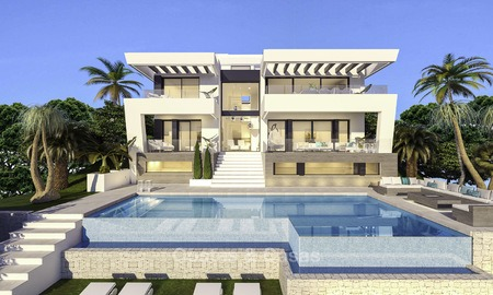 Ravishing modern luxury villa on a prominent golf course for sale, Mijas, Costa del Sol 12387