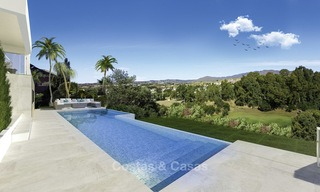 Ravishing modern luxury villa on a prominent golf course for sale, Mijas, Costa del Sol 12386