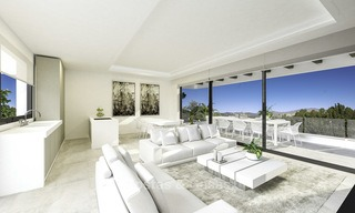 Ravishing modern luxury villa on a prominent golf course for sale, Mijas, Costa del Sol 12388