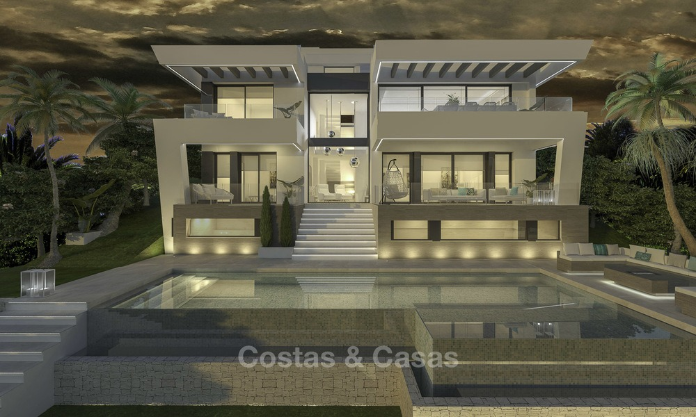Ravishing modern luxury villa on a prominent golf course for sale, Mijas, Costa del Sol 12389