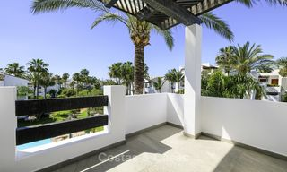 Fully redesigned and renovated beachside apartment for sale, between Estepona and Marbella 12483