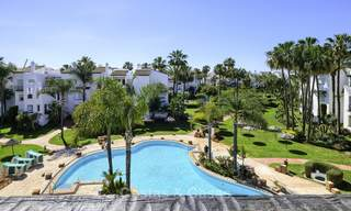 Fully redesigned and renovated beachside apartment for sale, between Estepona and Marbella 12484