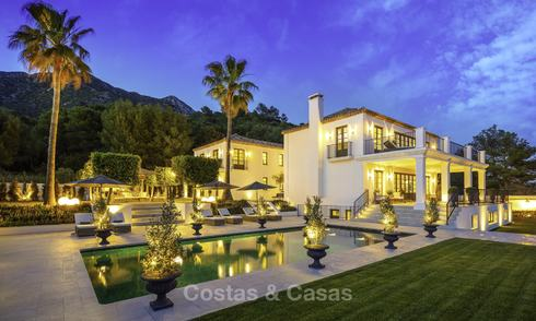 Exquisite contemporary luxury villa with spectacular sea views for sale in Sierra Blanca, Golden Mile, Marbella 12578