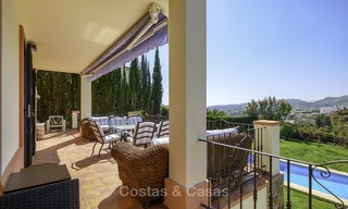 Rustic style villa with sea and mountain views for sale, Benahavis, Marbella 12644