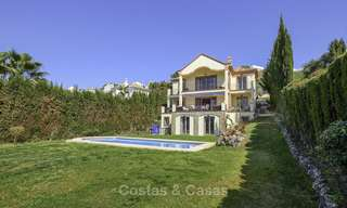 Rustic style villa with sea and mountain views for sale, Benahavis, Marbella 12646