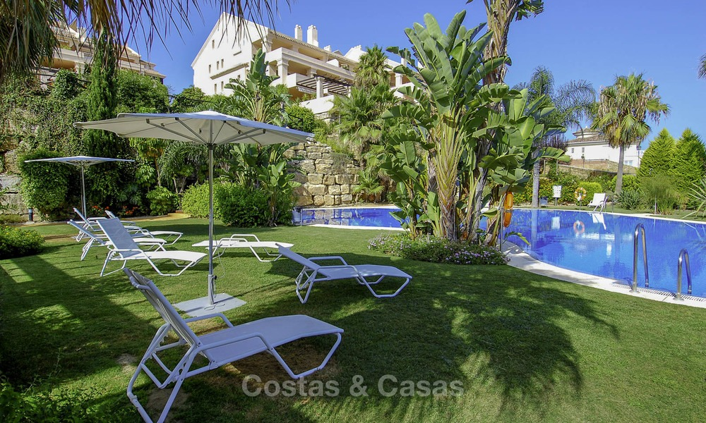 Spacious luxury apartments and penthouses with sea view for sale in Nueva Andalucia, Marbella 12772