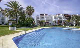Fully renovated beachside penthouse apartment for sale on the New Golden Mile, between Estepona and Marbella 12811