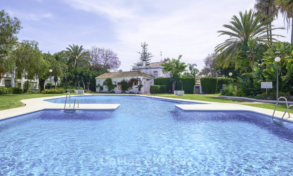 Fully renovated beachside penthouse apartment for sale on the New Golden Mile, between Estepona and Marbella 12814