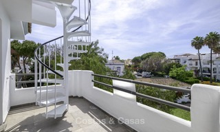 Fully renovated beachside penthouse apartment for sale on the New Golden Mile, between Estepona and Marbella 12833