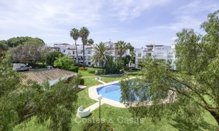 Fully renovated beachside penthouse apartment for sale on the New Golden Mile, between Estepona and Marbella 12834