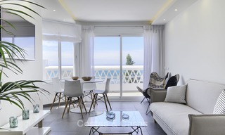 Fully renovated frontline beach penthouse apartment with amazing sea views for sale, Mijas Costa 12889