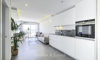 Fully renovated frontline beach penthouse apartment with amazing sea views for sale, Mijas Costa 12890