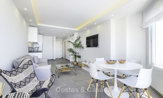 Fully renovated frontline beach penthouse apartment with amazing sea views for sale, Mijas Costa 12894
