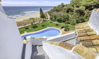 Fully renovated frontline beach penthouse apartment with amazing sea views for sale, Mijas Costa 12899