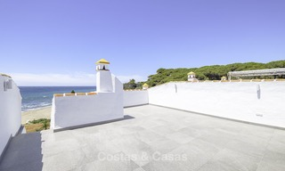 Fully renovated frontline beach penthouse apartment with amazing sea views for sale, Mijas Costa 12900