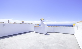 Fully renovated frontline beach penthouse apartment with amazing sea views for sale, Mijas Costa 12901