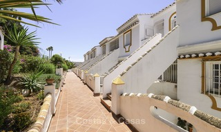Fully renovated frontline beach penthouse apartment with amazing sea views for sale, Mijas Costa 12908