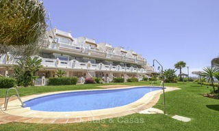 Fully renovated frontline beach penthouse apartment with amazing sea views for sale, Mijas Costa 12909
