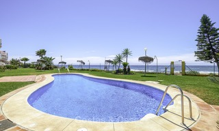 Fully renovated frontline beach penthouse apartment with amazing sea views for sale, Mijas Costa 12910