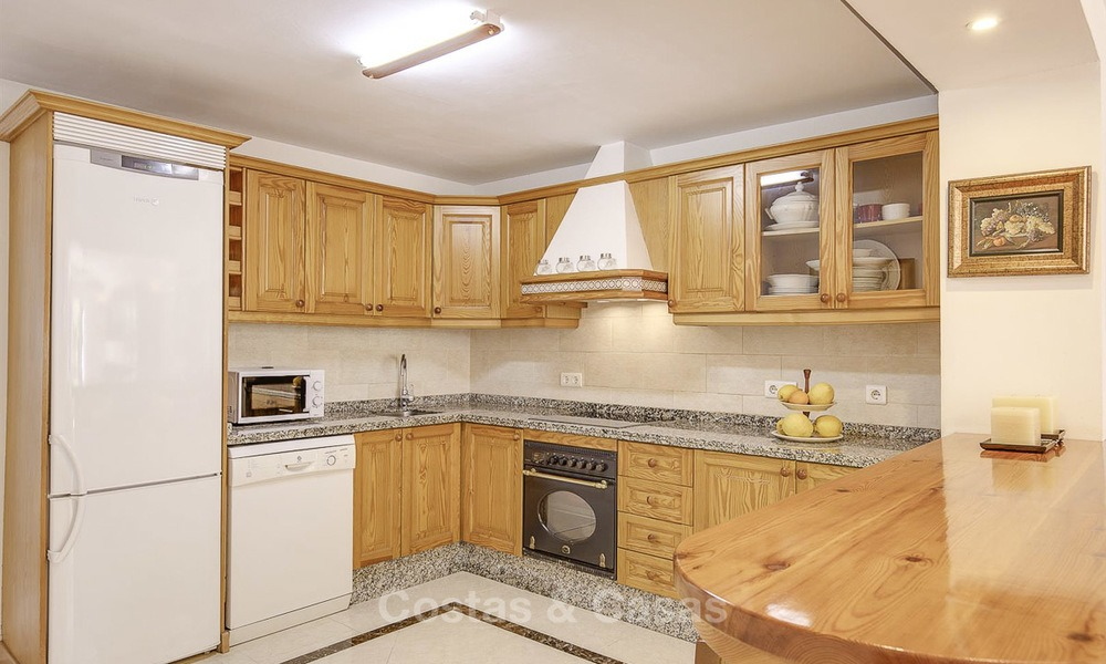 Attractively priced and well located garden apartment for sale, walking distance to the beach, amenities and Puerto Banus - Nueva Andalucia, Marbella 13080