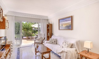 Attractively priced and well located garden apartment for sale, walking distance to the beach, amenities and Puerto Banus - Nueva Andalucia, Marbella 13093