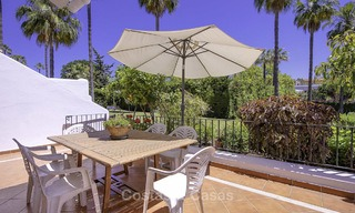 Attractively priced and well located garden apartment for sale, walking distance to the beach, amenities and Puerto Banus - Nueva Andalucia, Marbella 13095