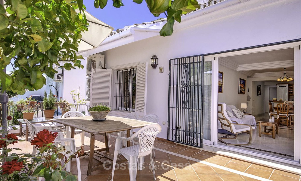 Attractively priced and well located garden apartment for sale, walking distance to the beach, amenities and Puerto Banus - Nueva Andalucia, Marbella 13096