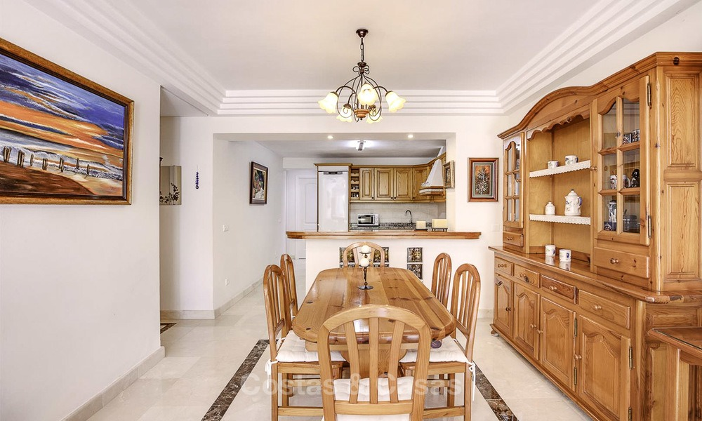 Attractively priced and well located garden apartment for sale, walking distance to the beach, amenities and Puerto Banus - Nueva Andalucia, Marbella 13097
