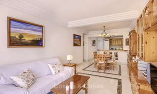 Attractively priced and well located garden apartment for sale, walking distance to the beach, amenities and Puerto Banus - Nueva Andalucia, Marbella 13098