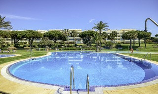 Nice frontline beach apartment with outstanding sea views for sale in a high standard complex, Cabopino, Marbella 12985