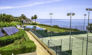 Nice frontline beach apartment with outstanding sea views for sale in a high standard complex, Cabopino, Marbella 12988