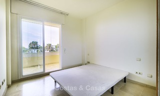 Nice frontline beach apartment with outstanding sea views for sale in a high standard complex, Cabopino, Marbella 13006