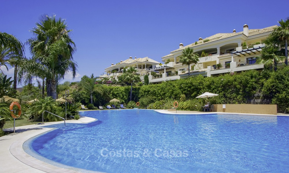 Spacious exclusive apartments and penthouses for sale in Nueva Andalucia, Marbella 13122