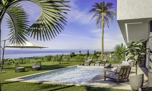 Stylish new modern luxury villas with panoramic sea views for sale, Manilva, Costa del Sol 12912