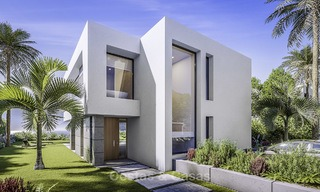 Stylish new modern luxury villas with sea views for sale, Manilva, Costa del Sol 12913