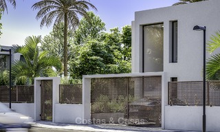 Stylish new modern luxury villas with sea views for sale, Manilva, Costa del Sol 12914