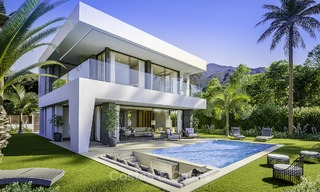 Stylish new modern luxury villas with sea views for sale, Manilva, Costa del Sol 12915