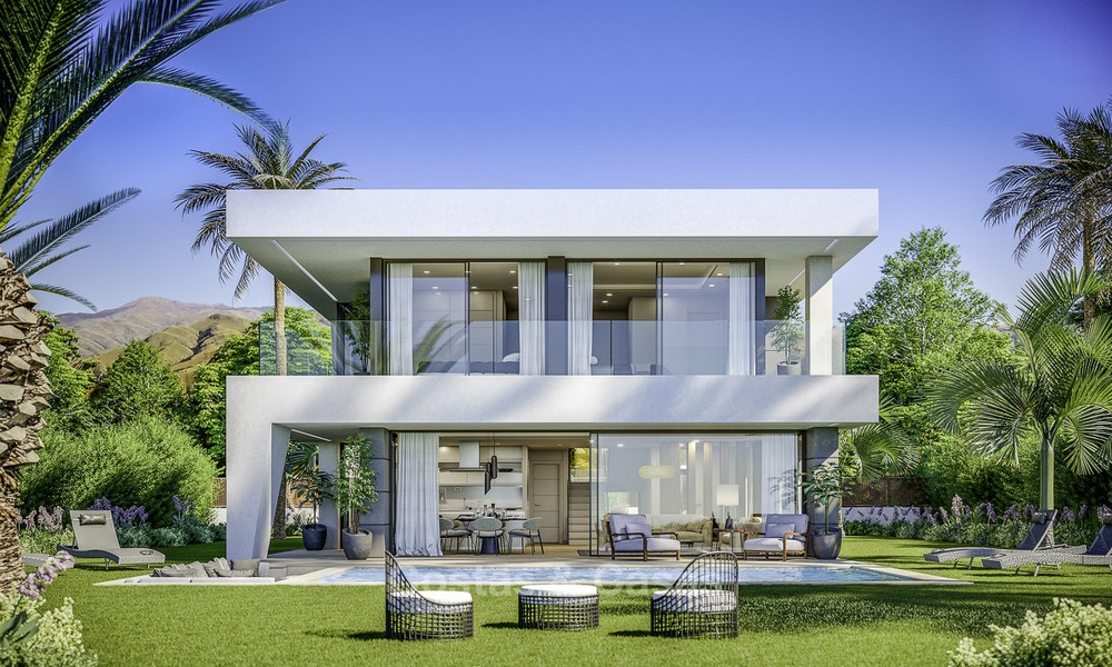 Stylish new modern luxury villas with sea views for sale, Manilva, Costa del Sol 12916