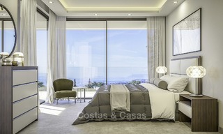 Stylish new modern luxury villas with sea views for sale, Manilva, Costa del Sol 12919