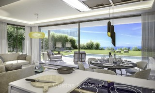 Stylish new modern luxury villas with sea views for sale, Manilva, Costa del Sol 12920