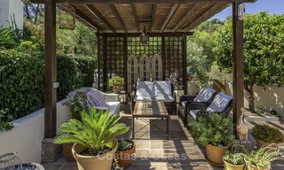 Idyllic traditional villa with amazing countryside views for sale, in the exclusive gated estate of El Madroñal, Benahavis, Marbella 12946