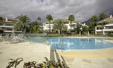 Spacious apartment with panoramic sea views for sale, in a prestigious complex on the Golden Mile, Marbella 13187