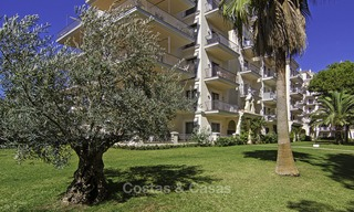 Attractive penthouse apartment with amazing sea views in a frontline beach complex for sale, Puerto Banus, Marbella 13230