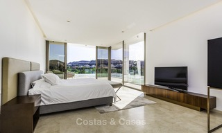 Stunning new modern contemporary luxury villa for sale, frontline golf in an exclusive resort, Benahavis, Marbella 13402