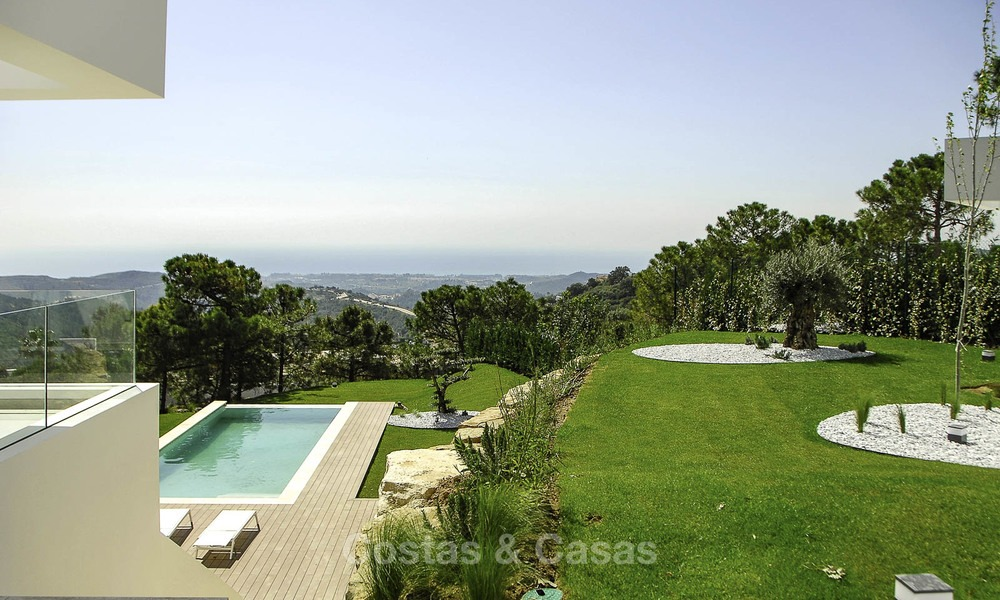 Magnificent new contemporary luxury villas with stunning sea views for sale, Benahavis, Marbella 13440