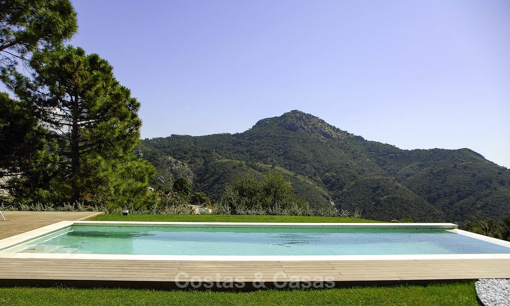 Magnificent new contemporary luxury villas with stunning sea views for sale, Benahavis, Marbella 13439