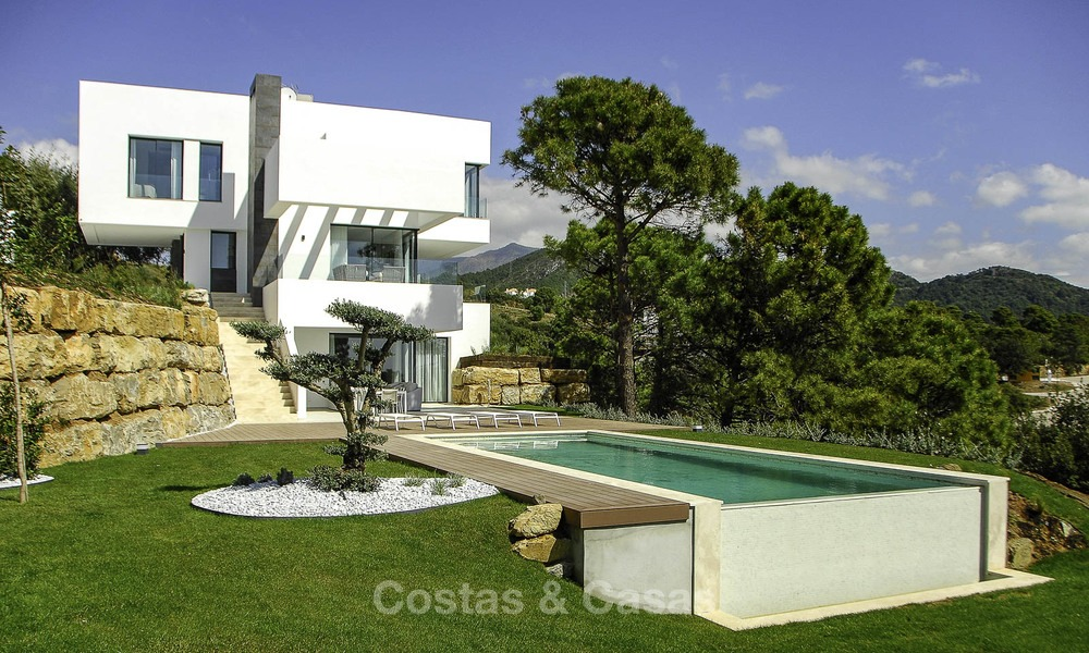 Magnificent new contemporary luxury villas with stunning sea views for sale, Benahavis, Marbella 13441