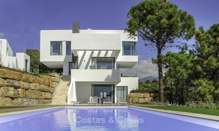 Magnificent new contemporary luxury villas with stunning sea views for sale, Benahavis, Marbella 13443