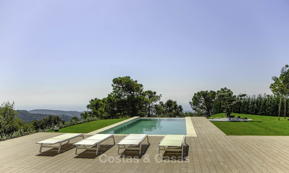 Magnificent new contemporary luxury villas with stunning sea views for sale, Benahavis, Marbella 13444