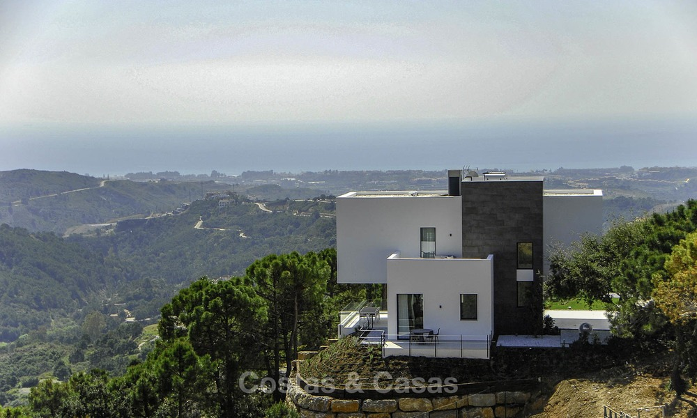 Magnificent new contemporary luxury villas with stunning sea views for sale, Benahavis, Marbella 13447